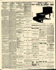 Eau Claire Daily Free Press, October 30, 1873, Page 4