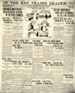 Eau Claire Leader, May 18, 1912, Page 1