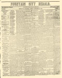 Fountain City Herald, September 20, 1853, Page 1