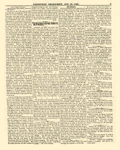 Galesville Transcript, August 10, 1860, Page 3