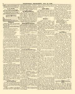 Galesville Transcript, August 10, 1860, Page 4