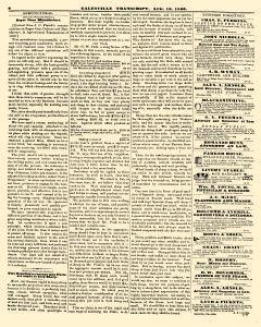 Galesville Transcript, August 10, 1860, Page 6