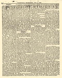 Galesville Transcript, November 09, 1860, Page 2