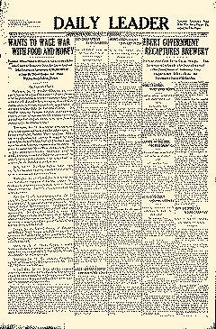 Daily Leader, January 13, 1919, Page 5