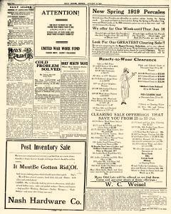 Daily Leader, January 13, 1919, Page 2