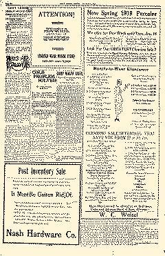 Daily Leader, January 13, 1919, Page 6