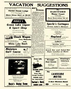 Green Lake County Reporter, July 28, 1960, Page 7