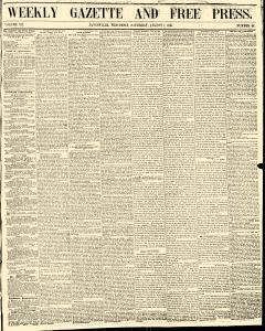 Weekly Gazette And Free Press, August 01, 1857, Page 1