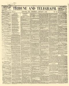 Tribune And Telegraph, January 03, 1856, Page 1