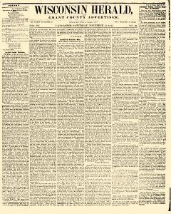 Wisconsin Herald, November 15, 1845, Page 1