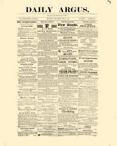 Daily Argus, February 05, 1852, Page 1