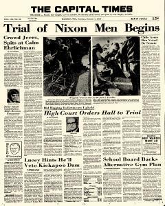 Madison Capital Times, October 01, 1974, p. 1