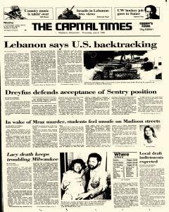 Madison Capital Times, July 08, 1982, Page 1