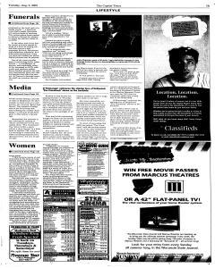 Madison Capital Times, August 09, 2005, Page 13