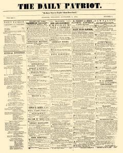 Madison Daily Patriot, November 04, 1854, Page 1