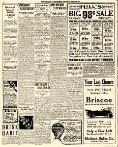 Madison Wisconsin State Journal, March 08, 1917, Page 2