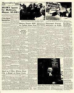 Madison Wisconsin State Journal, April 01, 1963, Page 19