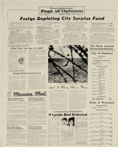 Madison Wisconsin State Journal, April 03, 1967, Page 23