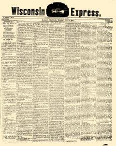 Wisconsin Express, June 18, 1850, Page 1