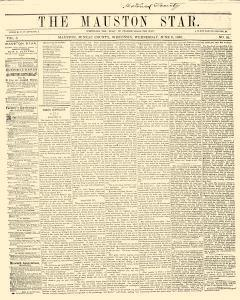 Mauston Star, June 06, 1860, Page 1