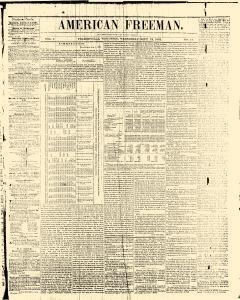 American Freeman, September 18, 1844, Page 1