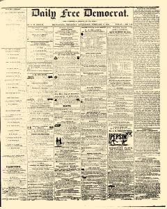 Daily Free Democrat, February 02, 1854, Page 1