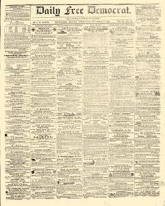 Daily Free Democrat, December 17, 1855, Page 1