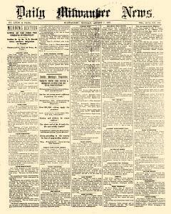 Daily Milwaukee News, August 07, 1865, Page 1
