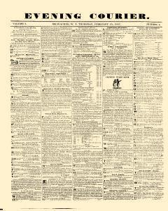 Evening Courier, February 25, 1847, Page 1