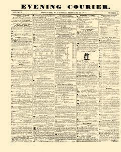 Evening Courier, February 26, 1847, Page 1