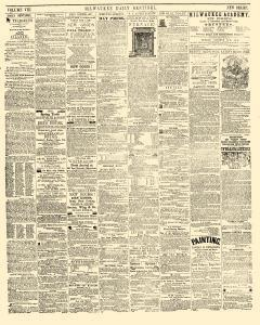 Milwaukee Daily Sentinel, October 05, 1852, Page 3