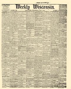 Weekly Wisconsin, August 09, 1854, Page 1