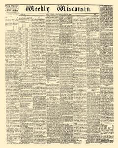 Weekly Wisconsin, July 04, 1855, Page 1