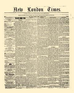 New London Times, January 23, 1857, Page 1