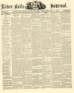River Falls Journal, February 08, 1860, Page 1