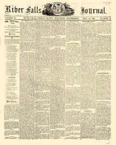 River Falls Journal, May 23, 1860, Page 1