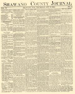 Shawano County Journal, October 19, 1865, Page 1