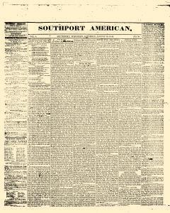 Southport American, August 30, 1845, Page 1