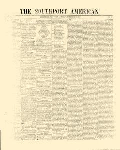 Southport American, November 21, 1846, Page 1