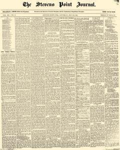 Stevens Point Daily Journal, July 23, 1881, Page 1