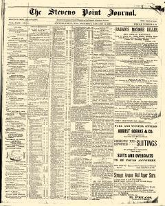 Stevens Point Daily Journal, January 14, 1893, Page 1