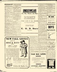 Stevens Point Daily Journal, September 28, 1907, Page 8