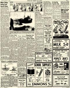Stevens Point Daily Journal, September 10, 1953, Page 5
