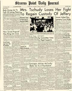 Stevens Point Daily Journal, June 08, 1954, Page 1