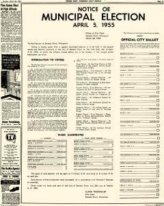 Stevens Point Daily Journal, March 28, 1955, Page 11