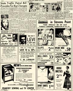 Stevens Point Daily Journal, March 28, 1955, Page 2