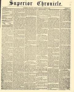 Superior Chronicle, March 31, 1857, Page 1
