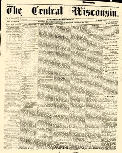 Wausau Central Wisconsin, October 25, 1860, Page 1