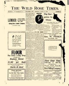Wild Rose Times, March 15, 1906, Page 1