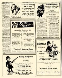 Wisconsin Rapids Daily Tribune, June 08, 1923, Page 29